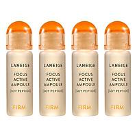 Tinh Chất Giúp Làm Giảm Các Dấu Hiệu Lão Hóa Da Laneige Focus Active Ampoule Soy Peptide Set (7ml x 4) 111974916