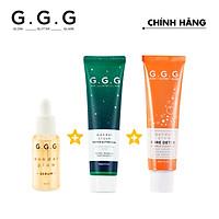 GGG - Bộ sản phẩm giảm mụn ngừa thâm bảo vệ 24h
