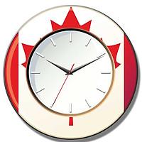 Đồng hồ gỗ tròn B2QR0144