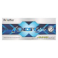 Hộp 10 Cây Bút Gel Bi Flexoffice Fo-Gelb012/Vn