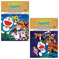 Combo Doraemon Tranh Truyện Màu - Nobita Và Cuộc Phiêu Lưu Ở Thành Phố Dây Cót - Tập 1 Và 2 (Tái Bản 2019) (Bộ 2 Tập)