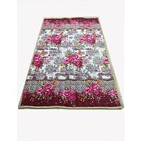 Thảm trải giường lông nỉ nhung 2 lớp có thể dùng làm trải đệm, thảm trải sàn, chăn đắp, có các loại kích thước