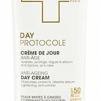 Dermeden Kem Chống Nắng Ngừa Lão Hóa & Làm Mờ Đốm Nâu Ban Ngày Dành Cho Da Nhờn, Da Hỗn Hợp Anti Age Day Cream Oily Skin SPF50+ 50ml