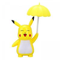 Đèn LED Pikachu Cầm Dù - 3 Kiểu Đèn