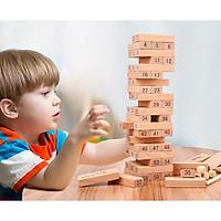 Bộ đồ chơi rút gỗ số thông minh 54 thanh