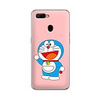 Ốp lưng dẻo cho điện thoại Oppo A5S - 01213 7862 DRM06 - Doremon - Hàng Chính Hãng