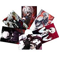 Tranh Poster SET 5 tấm Tokyo Ghoul  21cmx30cm ảnh khác nhau