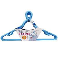 Set 10 móc phơi quần áo nội địa Nhật Bản