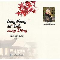 Sách - Lang Thang Từ Bắc Sang Đông - Nguyễn Dzoãn Cẩm Vân