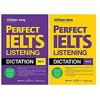 Sách - Combo Perfect Ielts Listening Dictation (Vol.1 + Vol.2)