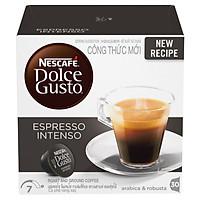 Hộp 16 Viên Nén Cà Phê Rang Xay Nescafe Dolce Gusto - Espresso Intenso (96g)
