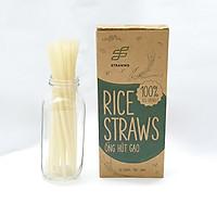 Ống hút gạo Rice Straws loại không màu
