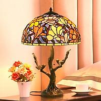 Đèn bàn Tiffany chao 40x63 chân cây chim
