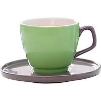 Bộ chén trà 1 người xanh 5051C
