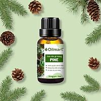 Tinh Dầu Thiên Nhiên Gỗ Thông Oilmart Pine Essential Oil 15ml