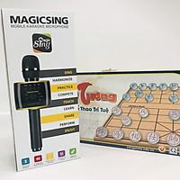 Combo Micro Karaoke Magicsing MP30 hàng chính hãng + bộ cờ tướng EDUGAME EA