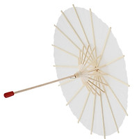 1/3 Scale Open & Close Oil Paper Umbrella Beige Parasol for 23 24 inch Girl Doll & Ball Jointed Dolls BJD