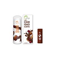 Bột Cám Gạo Cafe 150g + Bột Cám Gạo Cafe Mini 30g - AnThy Organic