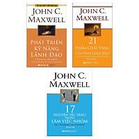 Combo Sách Kỹ Năng Làm Việc ( Bộ 3 cuốn ) : Phát Triển Kỹ Năng Lãnh Đạo + 21 Phẩm Chất Vàng Của Nhà Lãnh Đạo + 17 Nguyên Tắc Vàng Trong Làm Việc Nhóm( Tặng kèm Bookmark Green Life)