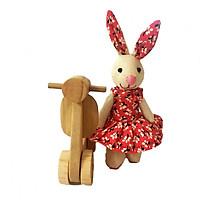 Thỏ điệu đi vespa Buratino ET18-0012