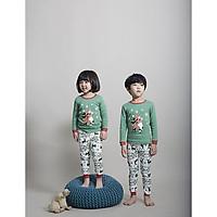 Bộ dài cho bé Olomimi Hàn Quốc Merry Christmas FW20 - 100% cotton