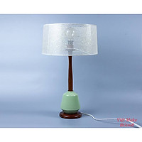 Đèn bàn gỗ bầu trời sao, đèn trang trí nội thất, đèn để bàn phòng ngủ hàng chính hãng.