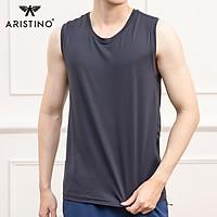Áo tank-top nam Aristino ATT004S1 regular fit suông nhẹ thoải mái