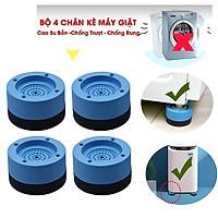 Combo 4 Chân Đỡ Đa Năng Bằng Nhựa - Chân Đế Kê Máy Giặt Chống Rung Chống Ồn