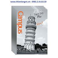 Lốc 5 quyển vở kẻ ngang Landscape 120 trang B5 Campus NNB-BLAS120 Ý