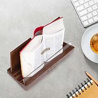 Kệ đọc sách thông minh Nhật Vy BH06 có thể đọc sách dày đến 1000 trang - Giá đọc sách để bàn bằng gỗ - Kệ để ipad để bàn.