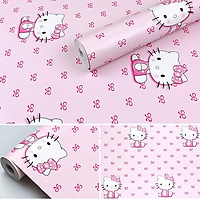 5m giấy decal cuộn Hello Kitty 3 DT109(45x500cm)