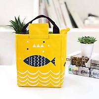 Túi giữ nhiệt hộp cơm hình cá