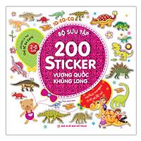 Bộ Sưu Tập 200 Sticker - Vương Quốc Khủng Long