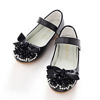 Giày búp bê da chống trơn trượt cho bé gái