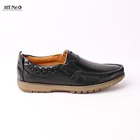 giày mọi da bò cao cấp đế cao su đặc đường chỉ chắc chắn GM61-DE