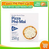 [Chỉ giao HCM] - 4P's Original Pizza 4 loại phô mai (size 18-20cm) - được bán bởi TikiNGON - Giao nhanh 3H
