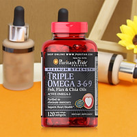Thực phẩm bảo vệ sức khỏe Maximum Strength Triple Omega 3-6-9 Fish