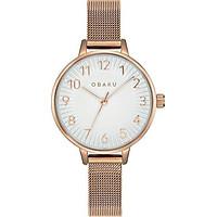 Đồng hồ đeo tay hiệu Obaku V237LXVIMV