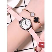 Đồng hồ nữ Doukou chính hãng dây da mặt nhỏ xinh 28mm