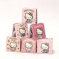 Gương gập vuông Hello Kitty  - 1 chiếc (giao ngẫu nhiên0