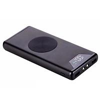 Pin dự phòng không dây chuẩn QI 10.000 MAh có led báo dung lượng pin