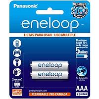 Pin sạc AAA Panasonic Eneloop BK-4MCCE/2B (Hàng chính hãng)