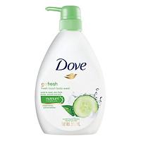 Sữa Tắm Dưỡng Ẩm Dove Go Fresh 550ml - Hương Dưa Leo Và Trà Xanh