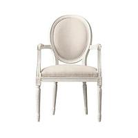 Ghế ăn Louis XVI có tay - Ghế tân cổ điển
