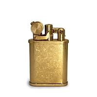 Hộp Quẹt Bật Lửa Xăng Đá Z559 Đồng Thau Màu Vàng Cổ Điển Đẹp Sang Trọng