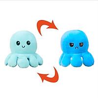 Gấu bông bạch tuộc cảm xúc biến hình xinh xắn - xanh nhạt - xanh đậm