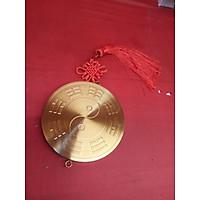 Gương bát quái bằng đồng DK 12cm