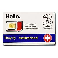 Sim du lịch Thụy Sỹ - Switzerland  4G tốc độ cao