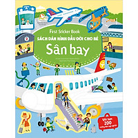 First Sticker Book - Sách Dán Hình Đầu Đời Cho Bé - Sân Bay