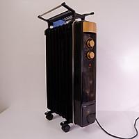 Máy sưởi dầu 9 thanh T9-800  thiết bị sưởi ấm gia đình. Làm ấm nhanh - Tiết kiệm điện + Tặng kèm 1 bật lửa
